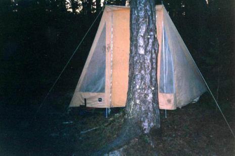 женская палатка. чтобы никто ночью не зашёл!
