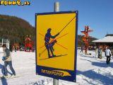 двусмысленный знак на горнолыжном курорте