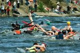 ежегодные соревнования - сплав на надувных женщинах. лосевские пороги.