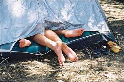 в поход надувной матрац - это буржуйство!